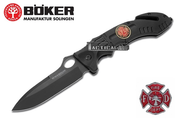 Picture of Σουγιάς διάσωσης Boker Magnum Rescue Fire Dept Knife