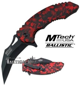 Εικόνα της Σουγιάς Karambit MTech Ballistic MTA844RD Linerlock