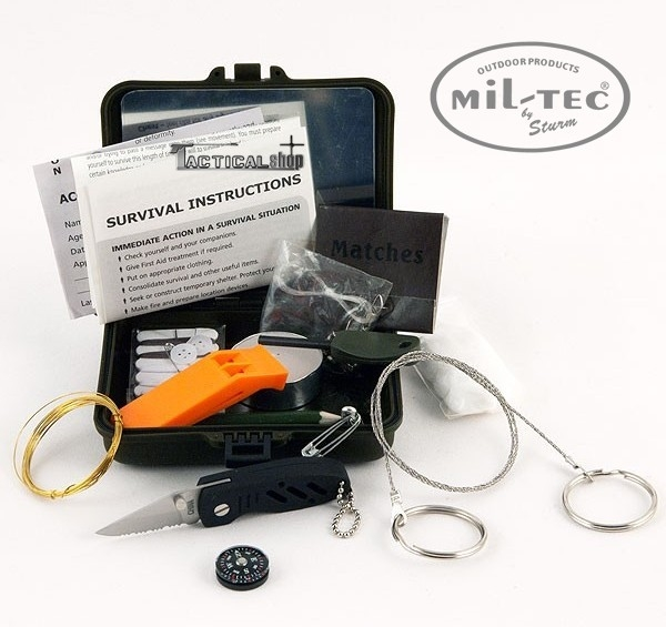 Picture of Mil-Tec Κιτ Επιβίωσης Survival Kit mini