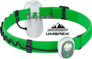 Εικόνα της Φακός Κεφαλής Led Alpina Sport AS 01 Πράσινος