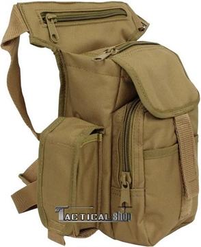 Εικόνα της Τσαντάκι ώμου μηρού Mil-Tec Multi Pack μπεζ