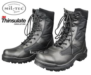 Εικόνα της Άρβυλα Ασφαλείας Mil-Tec Security 8 inch Boots