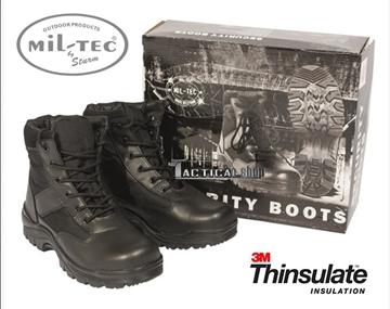 Εικόνα της Μποτάκια Ασφαλείας Mil-Tec Security Low Boots