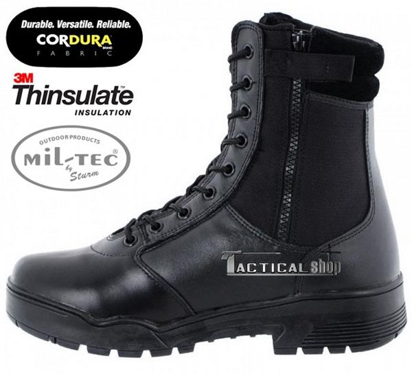 Picture of Άρβυλα Με Φερμουάρ Mil-Tec Tactical Leather/Cordura Boots