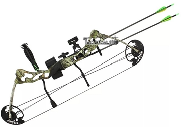 Tacticalshop - Bow Compound Buster 15 - 29 lbs Black