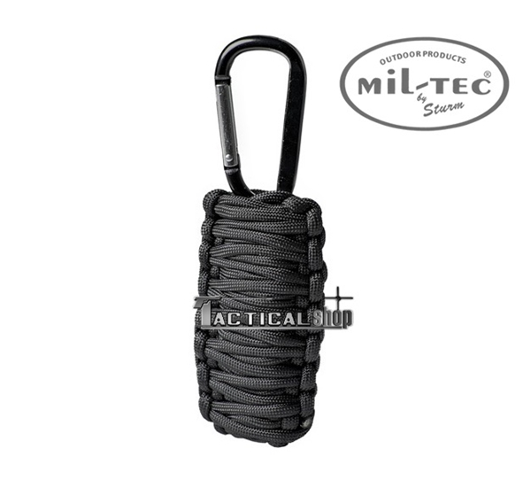 Picture of Κιτ επιβίωσης Mil-Tec paracord Survival Kit μαύρο μικρό