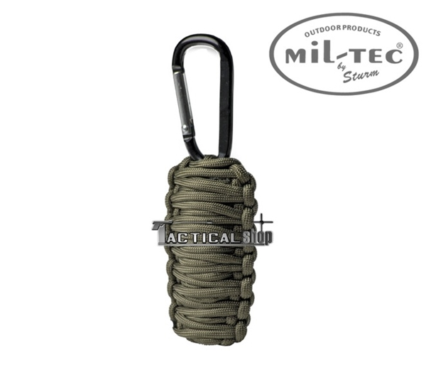 Picture of Κιτ επιβίωσης Mil-Tec paracord Survival Kit χακί μικρό