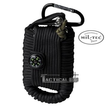 Εικόνα της Κιτ επιβίωσης Mil-Tec paracord Survival Kit μαύρο