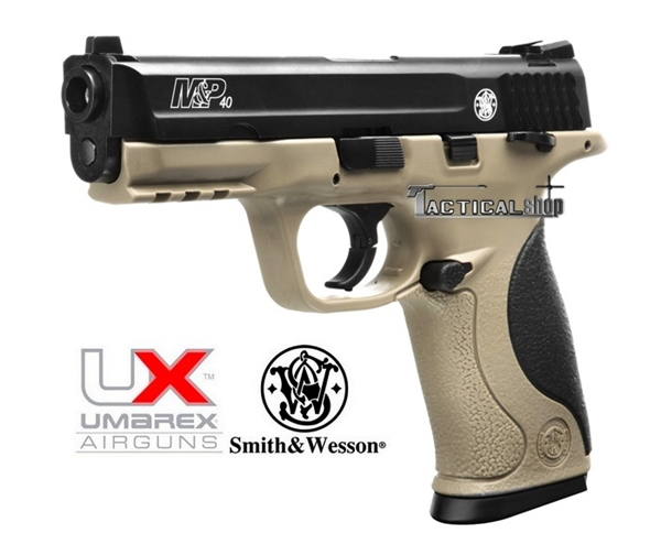 Picture of Αεροβόλο πιστόλι Smith & Wesson M&P 40 TS FDE