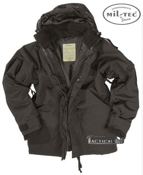 Picture of Μπουφάν Αδιάβροχο Μαύρο Wet Weather Jacket Mil-Tec