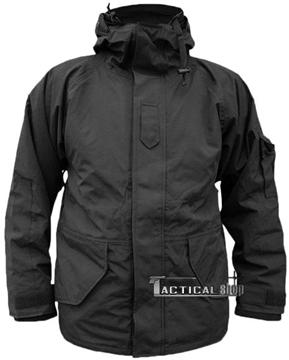 Εικόνα της Μπουφάν Αδιάβροχο Μαύρο Wet Weather Jacket Mil-Tec