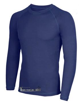 Εικόνα της Ισοθερμική Μπλούζα μπλε σκούρο μακρυμάνικη εισαγωγής