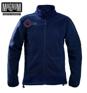 Εικόνα της Ζακέτα Magnum Essential Fleece Μπλε