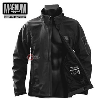 Εικόνα της Soft Shell Ζακέτα Magnum Tactical WP Μαύρη