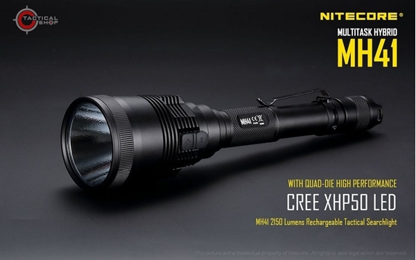 Picture of Επαναφορτιζόμενος Φακός 2150 lumens Nitecore Multi Task Hybrid MH41