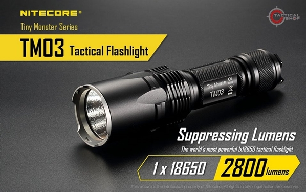 Picture of Φακός Led Nitecore Tiny Monster TM03 2800 Lumens
