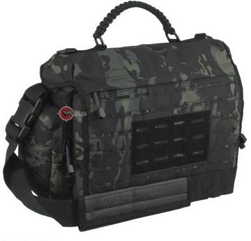 Εικόνα της Τσάντα σακίδιο Ώμου Mil-Tec Tactical Paracord Bag Μαύρη Παραλλαγή 10L