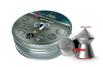 Εικόνα της Βληματάκια H&N Sport Spitzugel 4.5mm