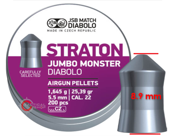 Picture of Βληματάκια αεροβόλου JSB Straton Monster 5.51 mm