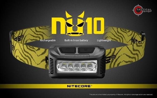 Picture of Επαναφορτιζόμενος Φακός Κεφαλής Led Nitecore NU10