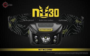 Εικόνα της Επαναφορτιζόμενος Φακός Κεφαλής Led Nitecore NU30 Army Green