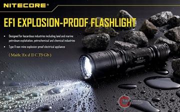 Εικόνα της Αντιεκρηκτικός Φακός Led Nitecore Explosion-Poof EF1 830 Lumens