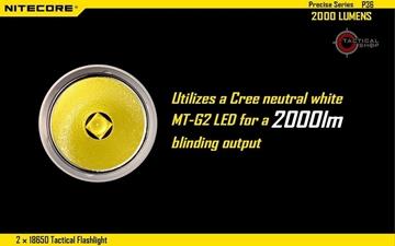 Εικόνα της Φακός Led Nitecore Precise Tactical P36 2000 Lumens
