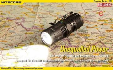 Εικόνα της Φακός Led Nitecore Explorer EC11 900 Lumens