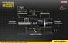Picture of Επαναφορτιζόμενος Φακός Nitecore Multi Task Hybrid MH20GT 1000 lumens