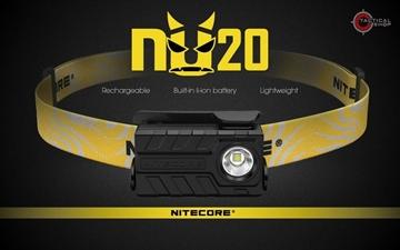 Εικόνα της Επαναφορτιζόμενος Φακός Κεφαλής Led Nitecore NU20 360 Lumens