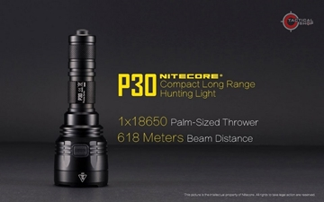 Εικόνα της Φακός Led Nitecore Precise P30 Tactical 1000 Lumens
