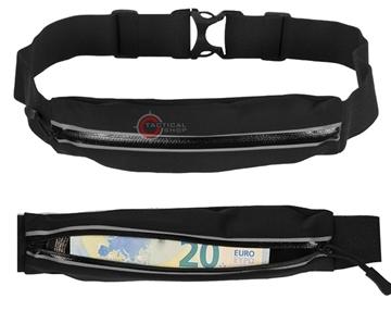 Εικόνα της Τσαντάκι Ζώνη Mil-tec Lycra Money Belt Μαύρο