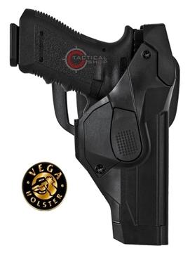 Εικόνα της Πιστολοθήκη Vega Cama DCH809 Retention level III για πιστόλια Glock mod. 19-23-25-32-38