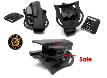 Εικόνα της Πιστολοθήκη Vega Shockwave SHWC009S Glock mod. 19-23-25-32-38
