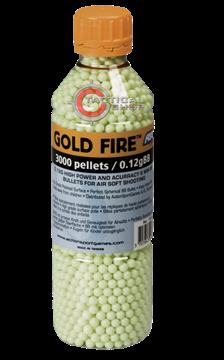 Εικόνα της Μπίλιες ΑSG Gold Fire Airsoft 6mm 0,12γρ 3000pcs σε μπουκάλι