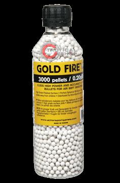 Εικόνα της Μπίλιες ΑSG Gold Fire Airsoft 6mm 0,20γρ
