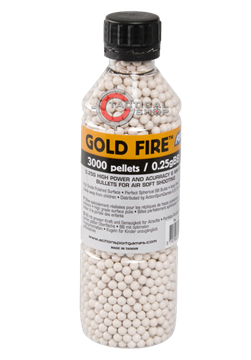Εικόνα της ASG Μπίλιες Gold Fire Airsoft 6 mm 0.25 gr