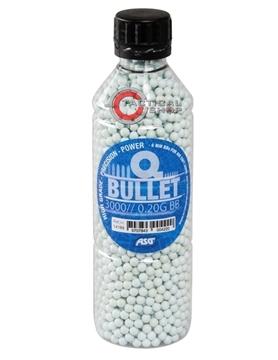 Εικόνα της Μπίλιες Q-Bullet Airsoft 6 mm 0.20 gr