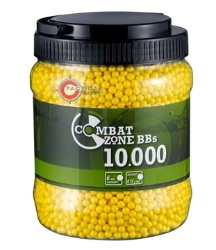 Εικόνα της Βλήματα Airsoft BBs 6mm 0.12gr Combat Zone BBs Basic Selection