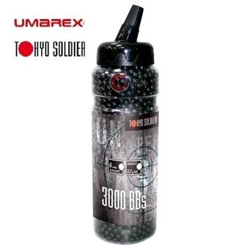 Εικόνα της Tokyo Soldier Μπίλιες Airsoft 6 mm 0.20 gr Black