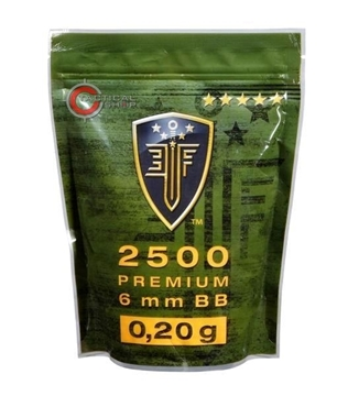 Εικόνα της Βλήματα Airsoft 2500 BBs 6mm 0.20gr Elite Force