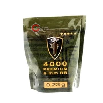 Εικόνα της Βλήματα Airsoft 4000 BBs 6mm 0.23gr Elite Force