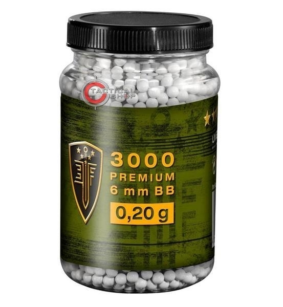 Picture of Βλήματα Airsoft 3000 BBs 6mm 0.20gr Elite Force