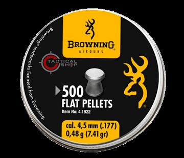 Εικόνα της Βλήματα Browning Flat Pellets 4.5 mm