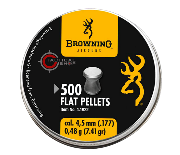Picture of Βλήματα Browning Flat Pellets 4.5 mm