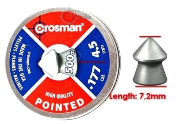 Εικόνα της Βολίδες Αεροβόλου Μυτερές Crosman Pointed 5,5mm
