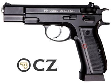 Εικόνα της Αεροβόλο πιστόλι αμπούλας ASG CZ75 Blow-back Metal Slide 4.5mm
