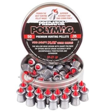 Εικόνα της Βολίδες Αεροβόλου Polymag Pretador 9mm