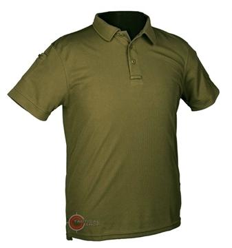 Εικόνα της Μπλουζάκι Polo Αντιιδρωτικό Mil-Tec Quick Dry Χακί