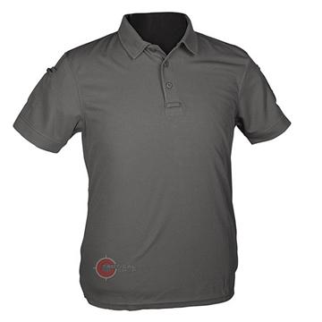 Εικόνα της Μπλουζάκι Polo Αντιιδρωτικό Mil-Tec Quick Dry Γκρι